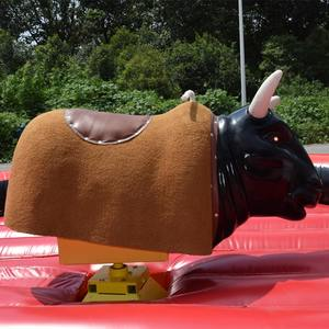 Cheap Inflatable Rodeo Mechanical Bull Riding / bucking bronco bull machine rodeo penis for sale used