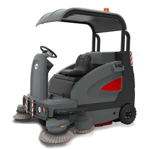 GM1900D road sweeper battery-powered sweeper vacuum sweeping machine