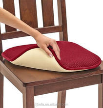 Memory Foam Chair Pad Set Cheap Foam Seat Chair Pad Cushion - Burgundy