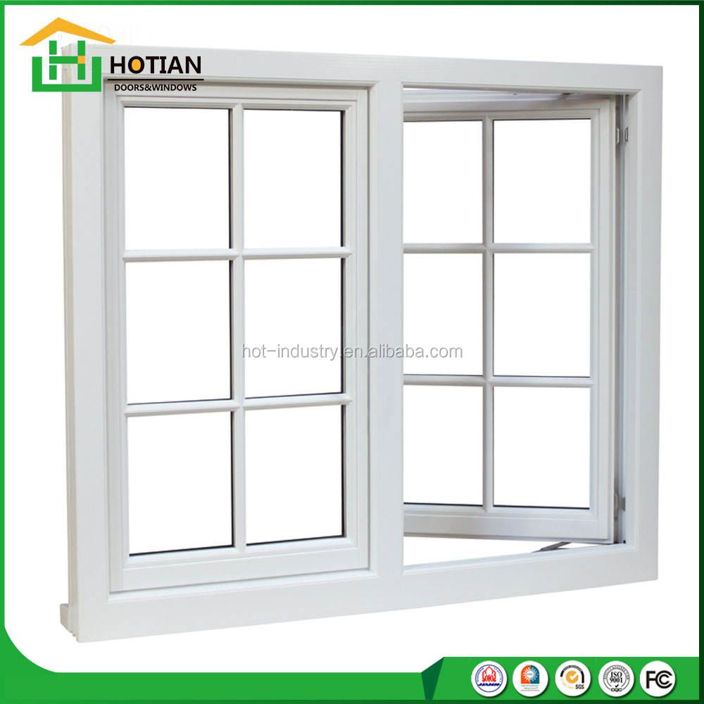 Indian Window Design Latest Windows Grill Design High Quality UPVC Window Casement pvc sliding glass window with mosquito net