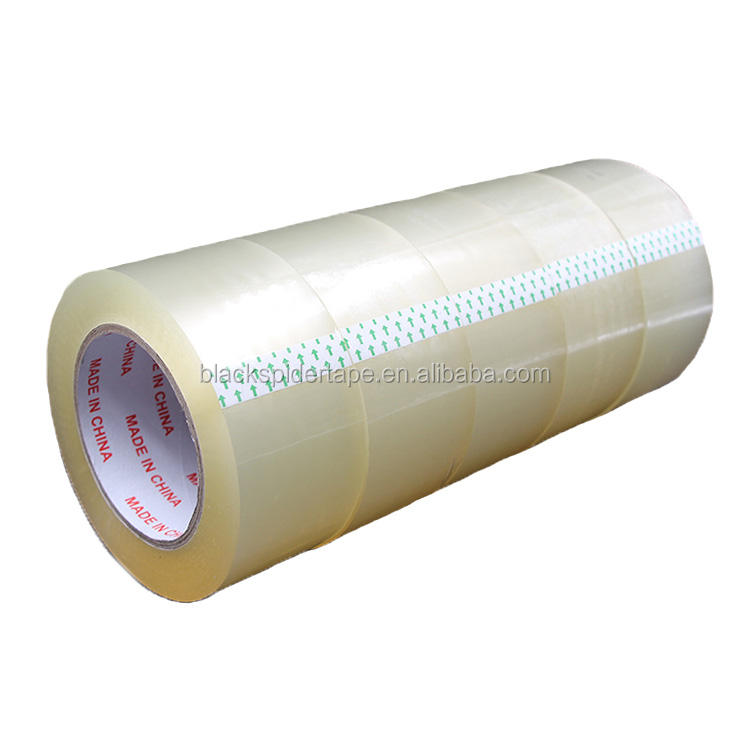 Factory Production China Self Adhesive Clear Transparent White Carton Sealing BOPP Clear Duct Tape For Packing Use