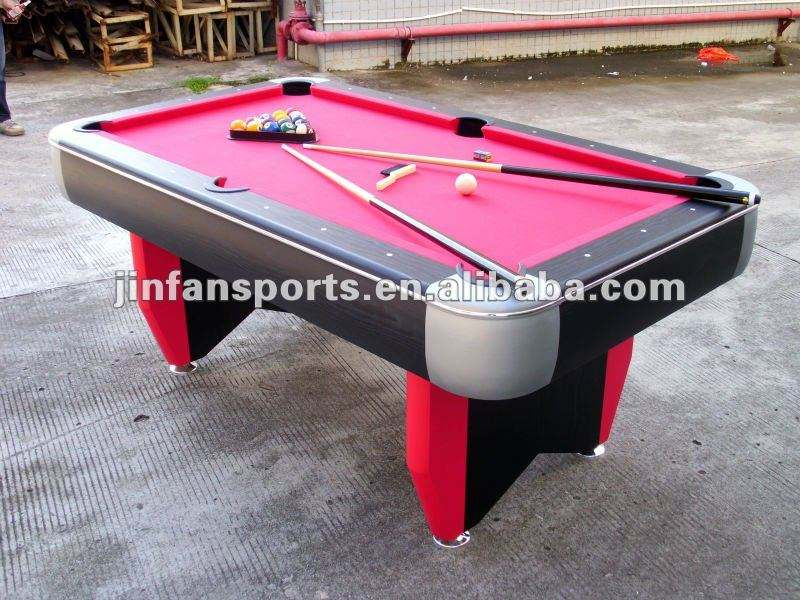 Table de billard de bonne qualité, table de billard simple pas cher