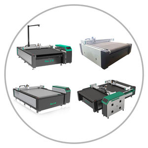 Flat bed Knife Cutting Machines with CAD CAM Software