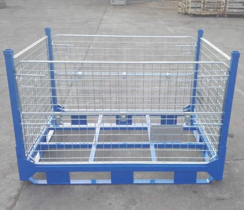 Heavy Duty Full Height Collapsible Mesh Cage