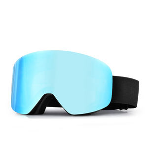 Support small order frameless designer snow ski goggles