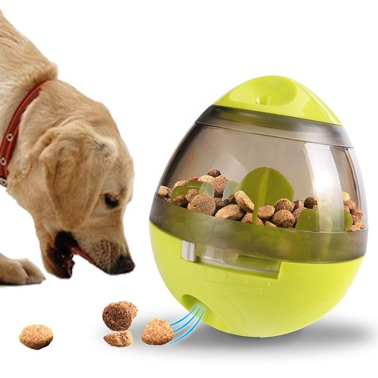 Bola Interativa Treat Dispenser Pet IQ Inteligente Brinquedo Do Alimento De Cão para Cão
