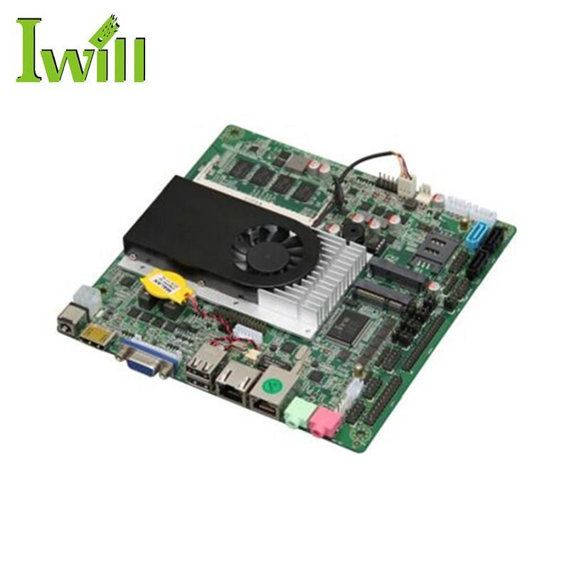 1037U Dual Core Processor X86 Mini Itx Embedded Desktop Motherboard