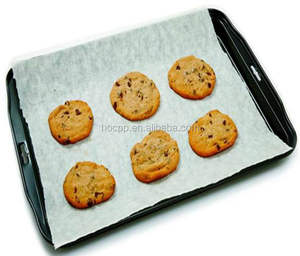 Fulton leading paper mill greaseproof parchment baking papier cuisson sheets with silicone coated