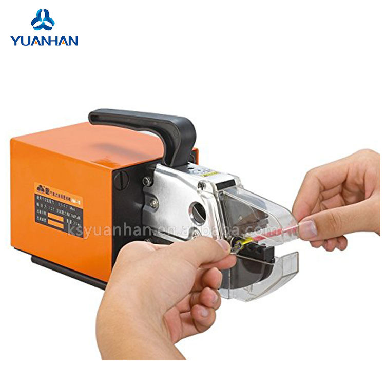 Excellent Pneumatic Air Powered Wire cable terminate crimping machine