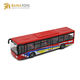 Pull Back Baby Mini Alloy Metal Die Cast Diecast City Model Toy Bus for Kids