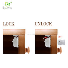 safety baby magnetic cabinet locks of baby safety product