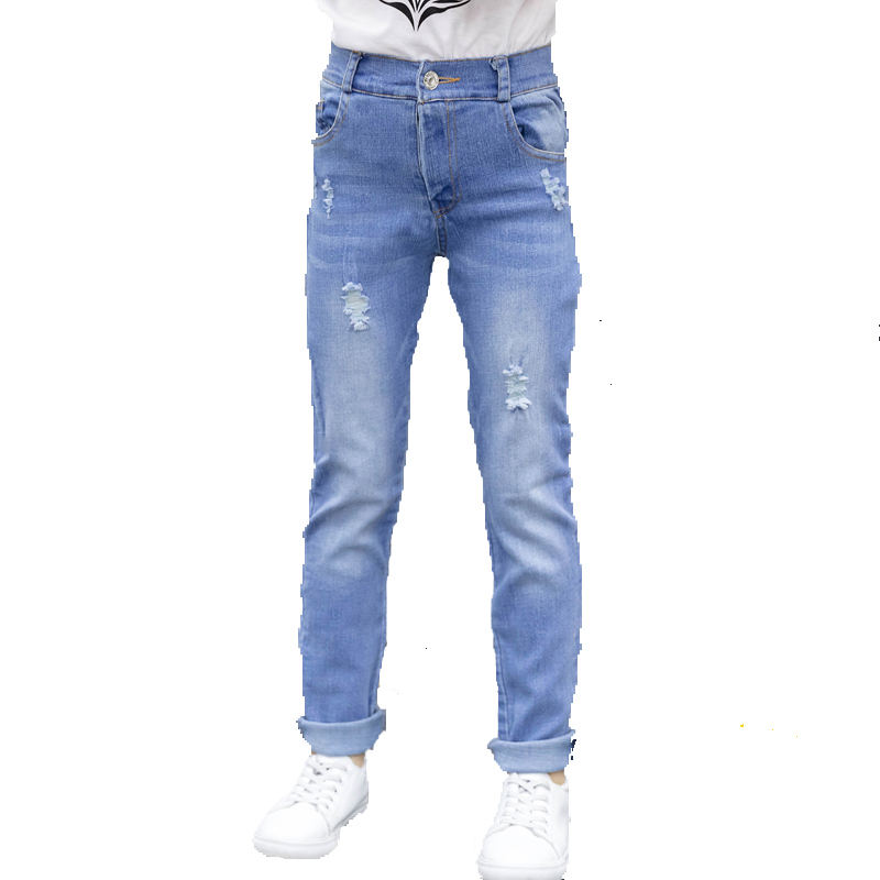 2018 Wholesale manufacturers oem service high quality new model kid denim jeans