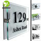 Best Quality High Custom Acrylic House Door Number