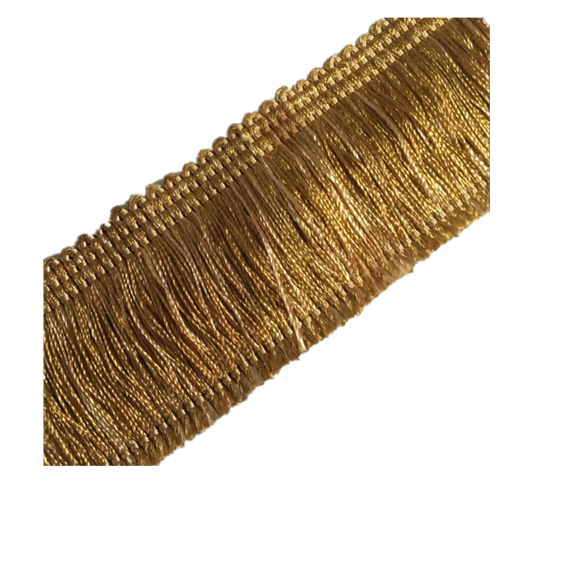 Factory hot sale carpet brush fringe , decorative pillow fringe & cushion fringe