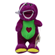 HI CE wholesale cartoon character lovely barney plush toys , adult plush and stuffed toys