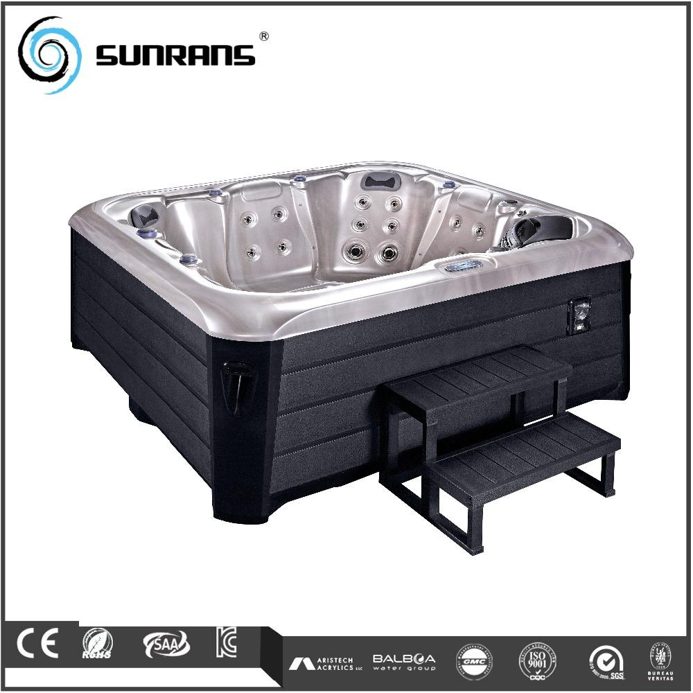 Export Spa Tub Cheap High Quality 6 Persons Outdoor Acrylic Whirlpools Spa Hot Tub