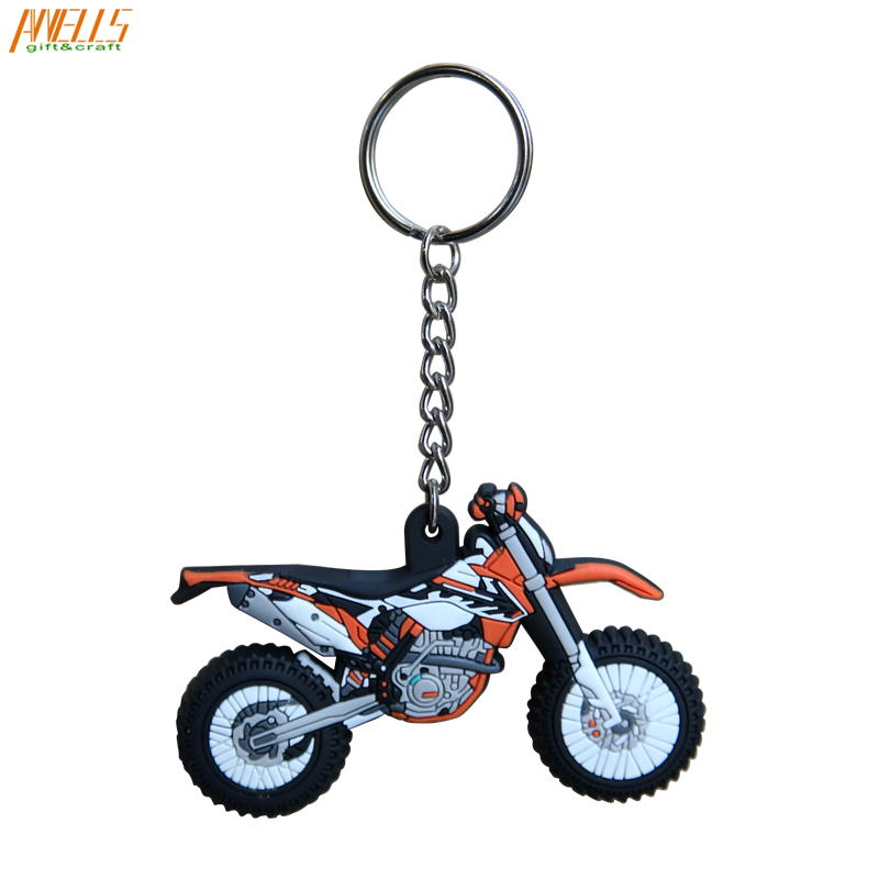 One-Stop Service Keychain Pendants Keychain Pvc China Wholesale PVC Keychain Custom Accessories Pendants Great For Promotional Gifts