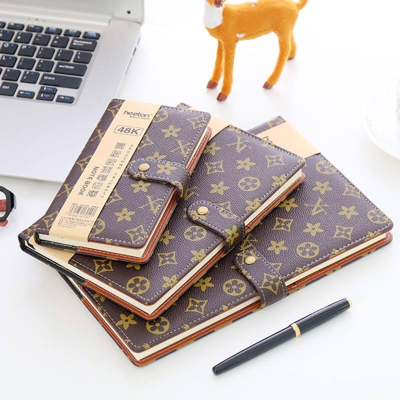 calendar diary brand name leather diary a5 leather notebook cover