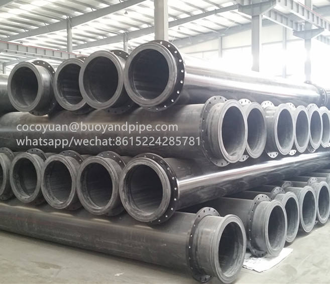 Uhmwpe [ Large Diameter Dredging ] Pipe For Dredging Large Diameter Plastic Pipe For Sand Dredging