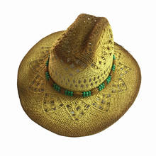 Men's Straw Hat Cowboy