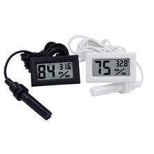 NEW LCD Digital Thermometer Humidity Hygrometer temperature sensor Temp Gauge Temperature Meter 14%off