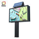 steel structure outdoor scrolling Advertising light box LED billboard display