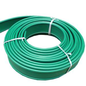 Golden Supplier HDPE Virgin Material Landscape Edging For Garden Coiled 15cm By 100m, Green