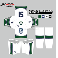 2018 sublimation custom printing hockey jersey make your own design Mens Ice Hockey Pant Shell
