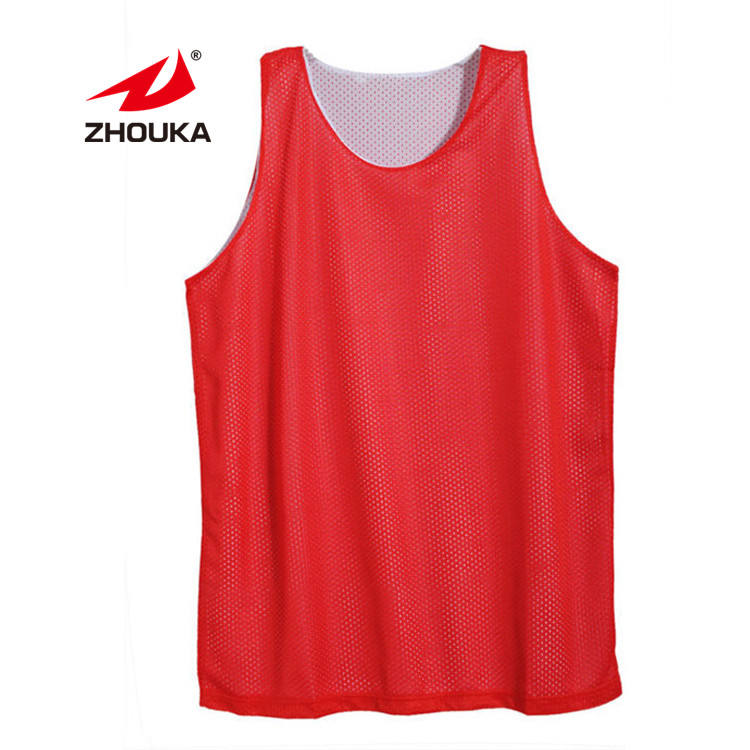 Sublimation Printing Logo Red White loungewear tracksuits cheap basketball uniforms Reversible new Basketball Jersey