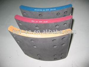brake lining heavy duty shoes truck brake 19094 brake lining from OEM manufacturer made in China directly