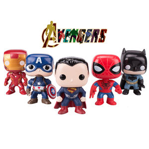 Kids Party favors Miniature Marvel Superheros figurines hot toy for cake topper decorating