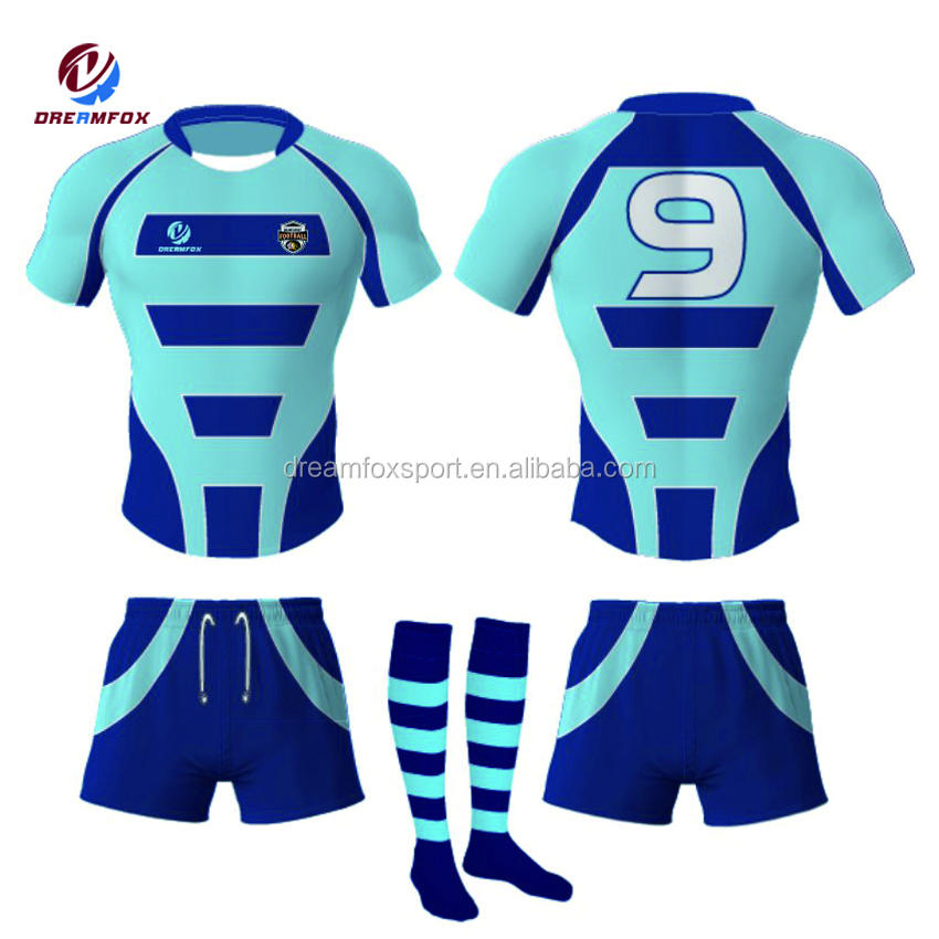 wholesale sublimated all custom rugby uniform design, customized team rugby league jerseys sublimation printing