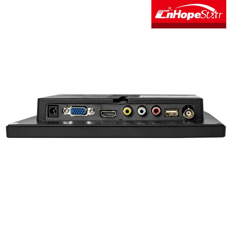 Многофункциональный 7 8 10 дюймов cctv lcd монитор с VGA AV HDMI порт