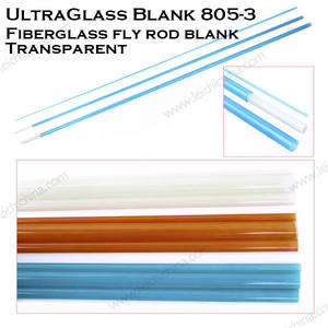 UltraGlass In Fibra di vetro canna da pesca A Mosca blanks