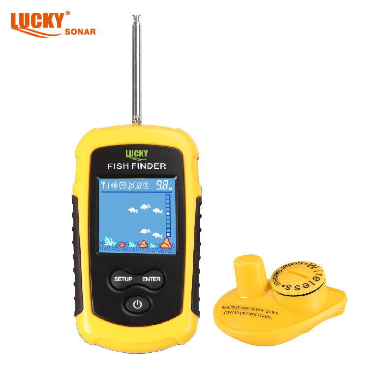 Lucky Wireless Sonar Fish Finder Fishing Reels Wholesale Factory