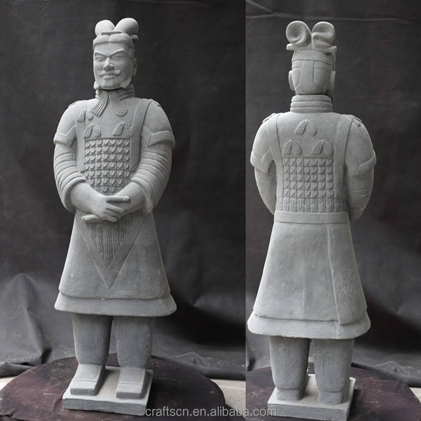 Antique terracotta army of Qin dynasty