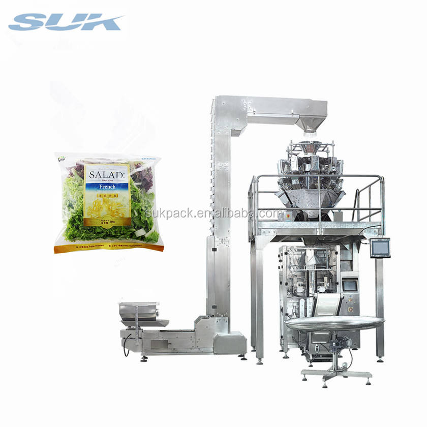 Vegetable Carrot Onion Slices/ Flakes Packing Machine