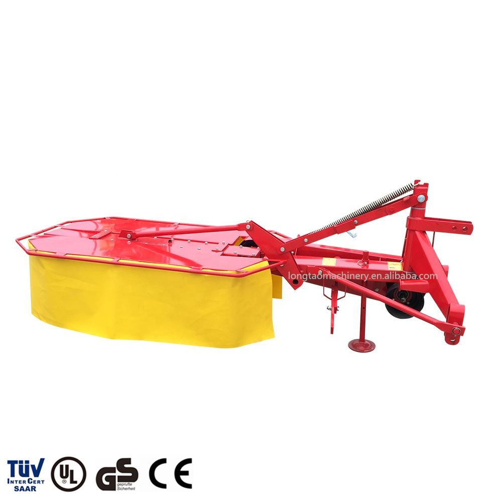 Top quality tractor mounted rotary drum mower with CE certificate