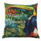 Sublimation custom decorative wholesale printed throw pillow case print