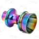 Car Styling Neo Chrome Manual Transmission Shift Lever Knob Reverse Lockout Lifter For BRZ FRS