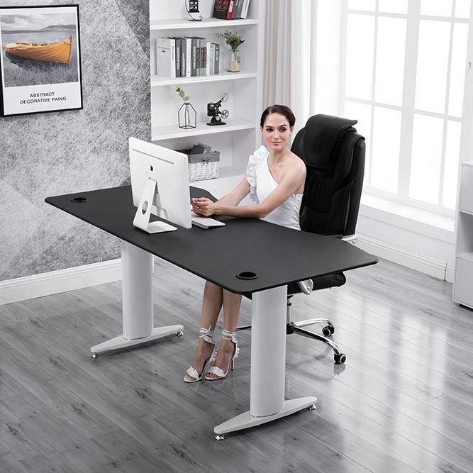 Factory main products ergonomic sit stand height adjustable desk
