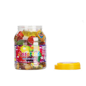 100Pcs Ronde Pot Diverse Mini Pot Fruit Pudding Jelly