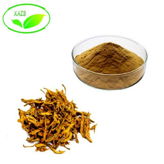 100% Natural medicina Herbal china Coptis de extracto de raíz de/Goldthread rizoma/extracto de Coptis Chinensis EXTRACTO DE