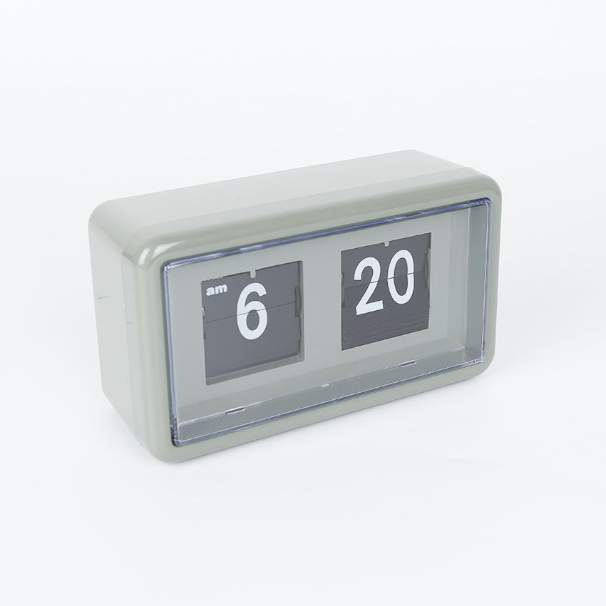 Factory Direct Supply Wholesale OEM/ODM 나무 Auto Flip 달력 Clock, Date 및 날 Flip Clock