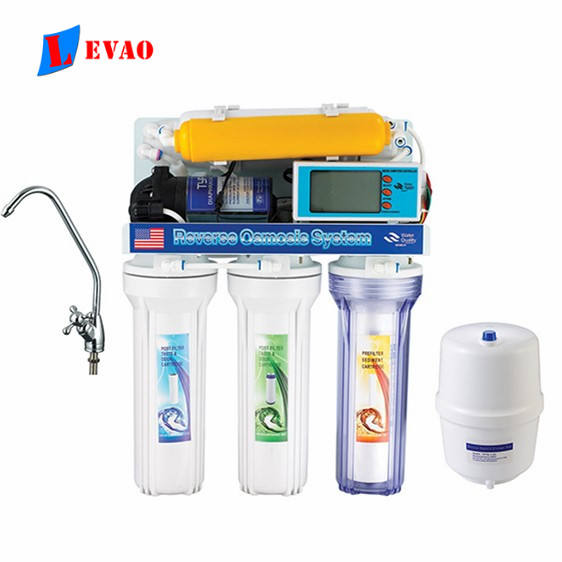 China suppliers Best sell 6 stages RO water purifier/high quality reverse osmosis machine / household water filter with computer