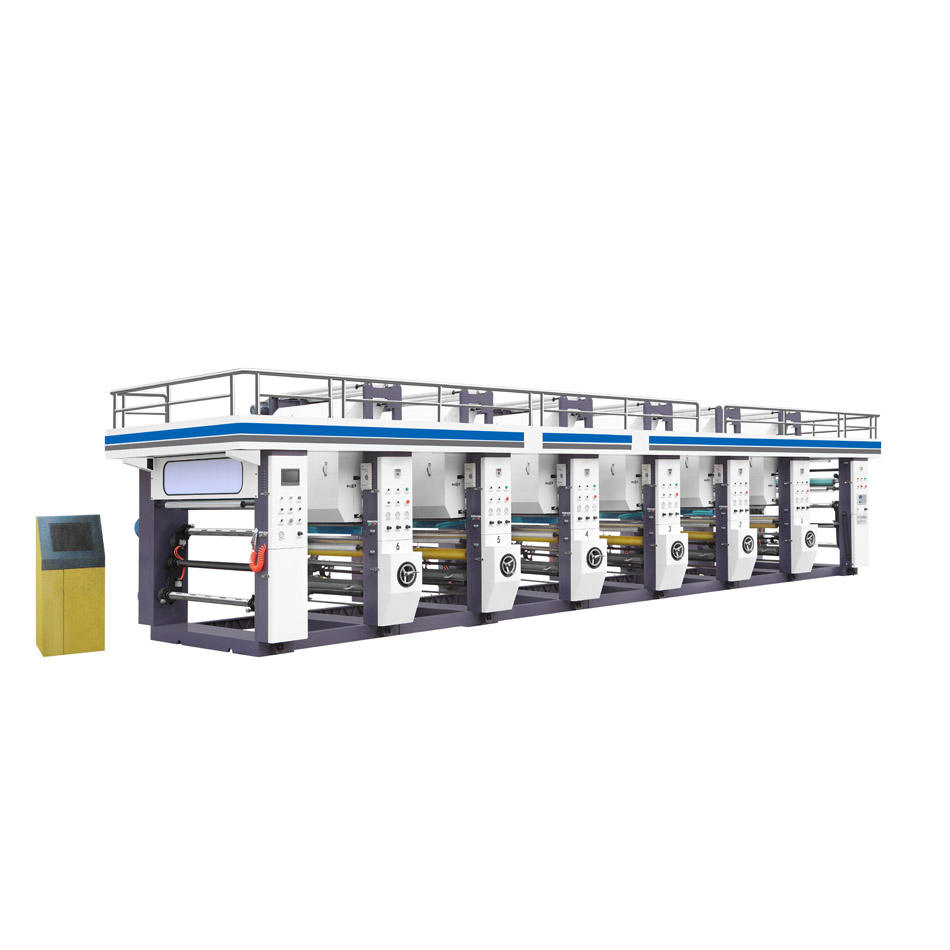 150M/MIN SUPER HIGH SPEED COMPUTER CONTROL 12345678 COLOR COMBINED TYPE PAPER FOIL PLASTIC FILM ROTOGRAVURE PRINTING MACHINES