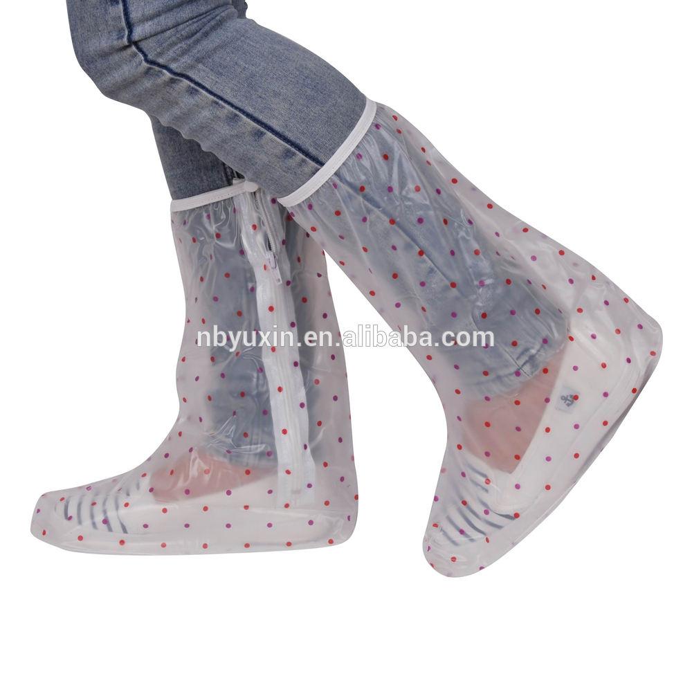 レディス新しいスタイル洗える、 防水使い捨て靴カバー英国