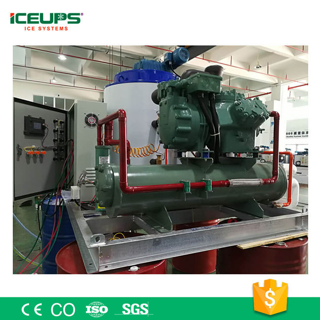 Hot Sale Industrial Use Concrete Cooling ICE Flake Making Machines 10T