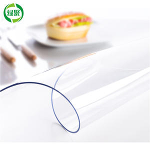 Flexible Plastic Protective Transparent Pvc Sheet Film For Table And Door Curtain, Soft Super Clear Pvc Film