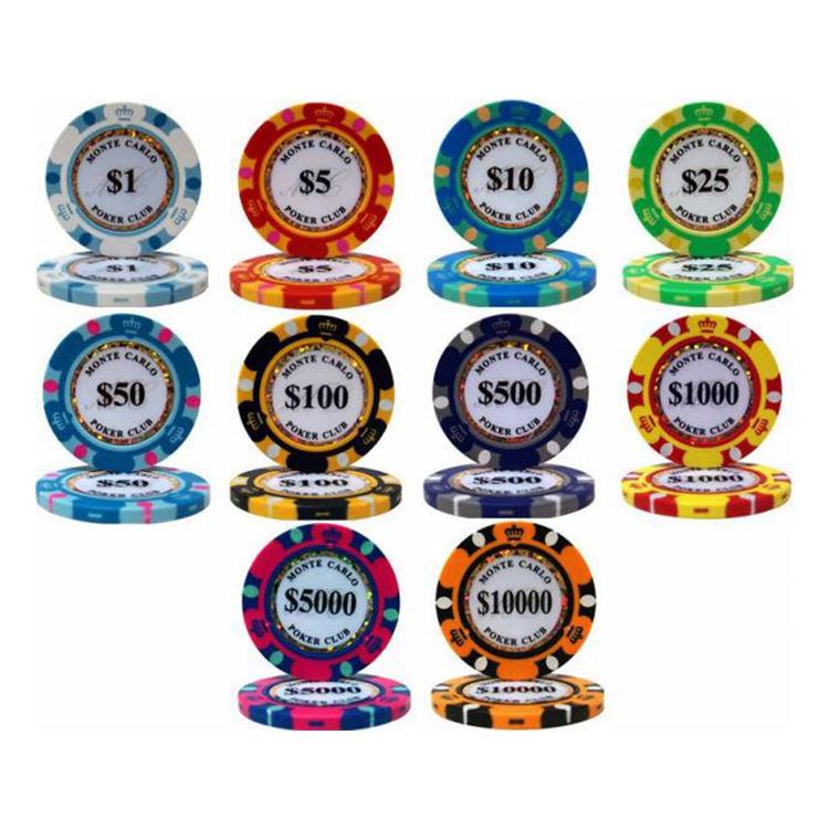 Casino Club Poker Chips